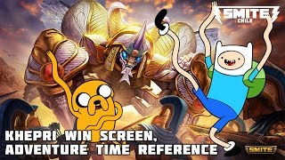 Baixar Khepri win screen, Adventure time reference // Smite Chile Oficial