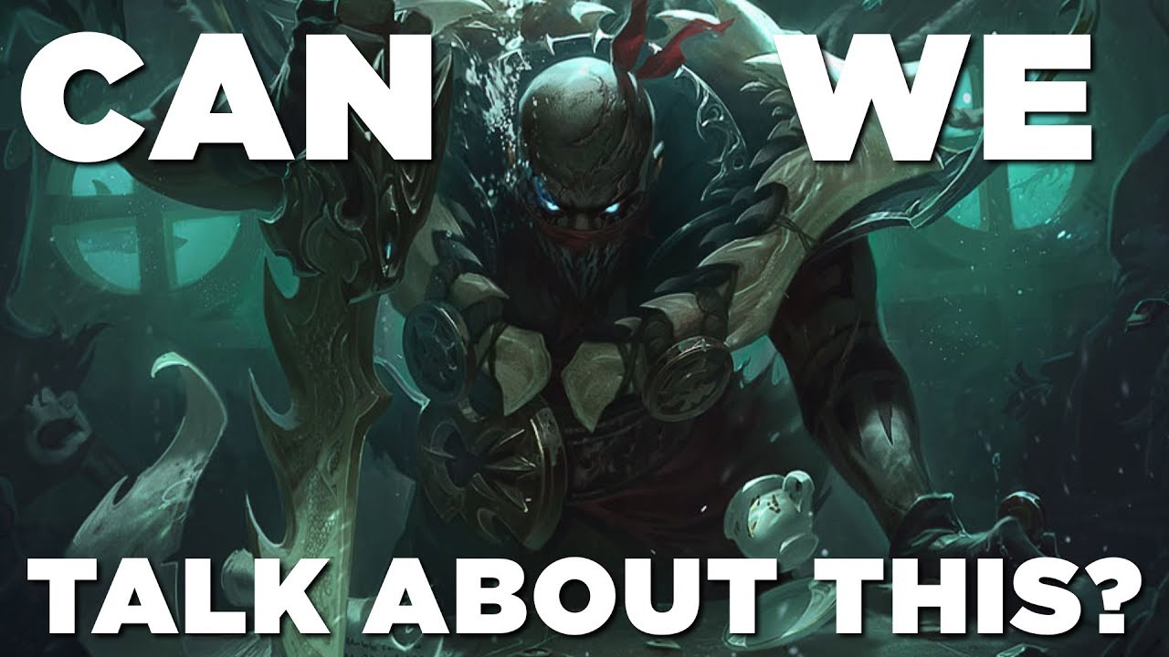 Can We Talk About This Pyke Youtube