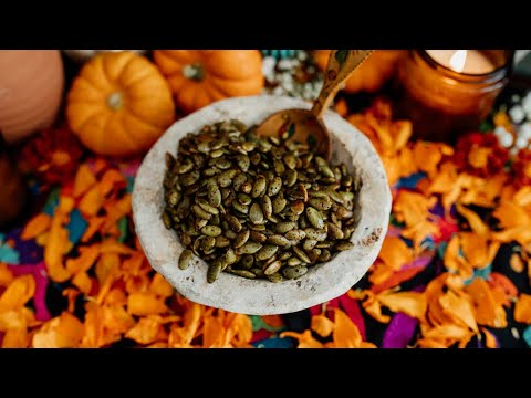 Spicy Roasted Pepitas Recipe (Pumpkin Seeds)