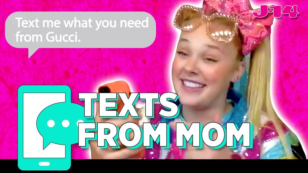 JoJo Siwa Reads Texts From Mom