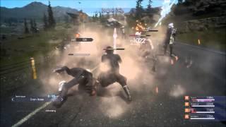 Video Final Fantasy XV   Armiger   Ramuh Summoning Gameplay    PS4   Episode Duscae   Japanese Voice download MP3, 3GP, MP4, WEBM, AVI, FLV September 2018