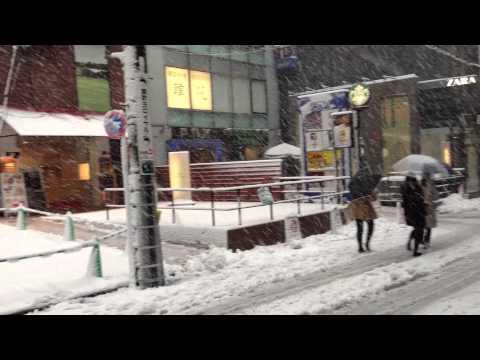 Heavy Snow in Tokyo, January 14, 2013 ‐Vol4