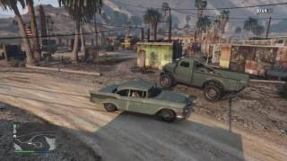 GTA 5 - Worn Seawash green cars and where to find them