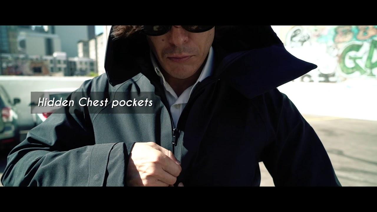 Pilloon Jacket // Deep Sea Blue (XS) video thumbnail
