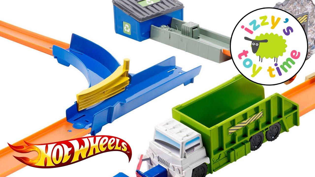 Cars Hot Wheels Trash Basher Playset Fun Toy Cars