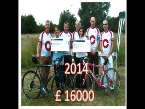 Givaudan 500 Geneva to Barcelona - Charity Cycle Challenge