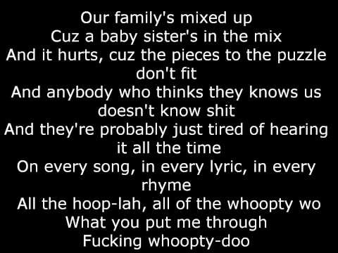 Eminem - Love you more LYRICS