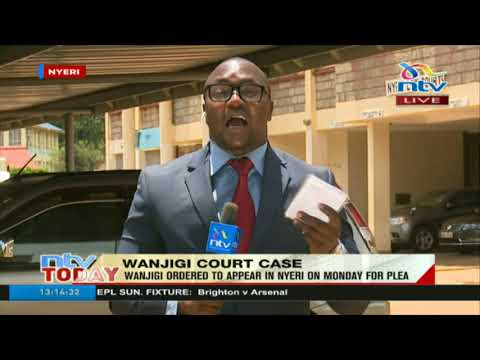Wanjigi's lawyers want Nairobi court to terminate his case in Nyeri