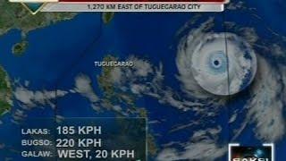 Saksi: Typhoon Ompong, lalong lumakas