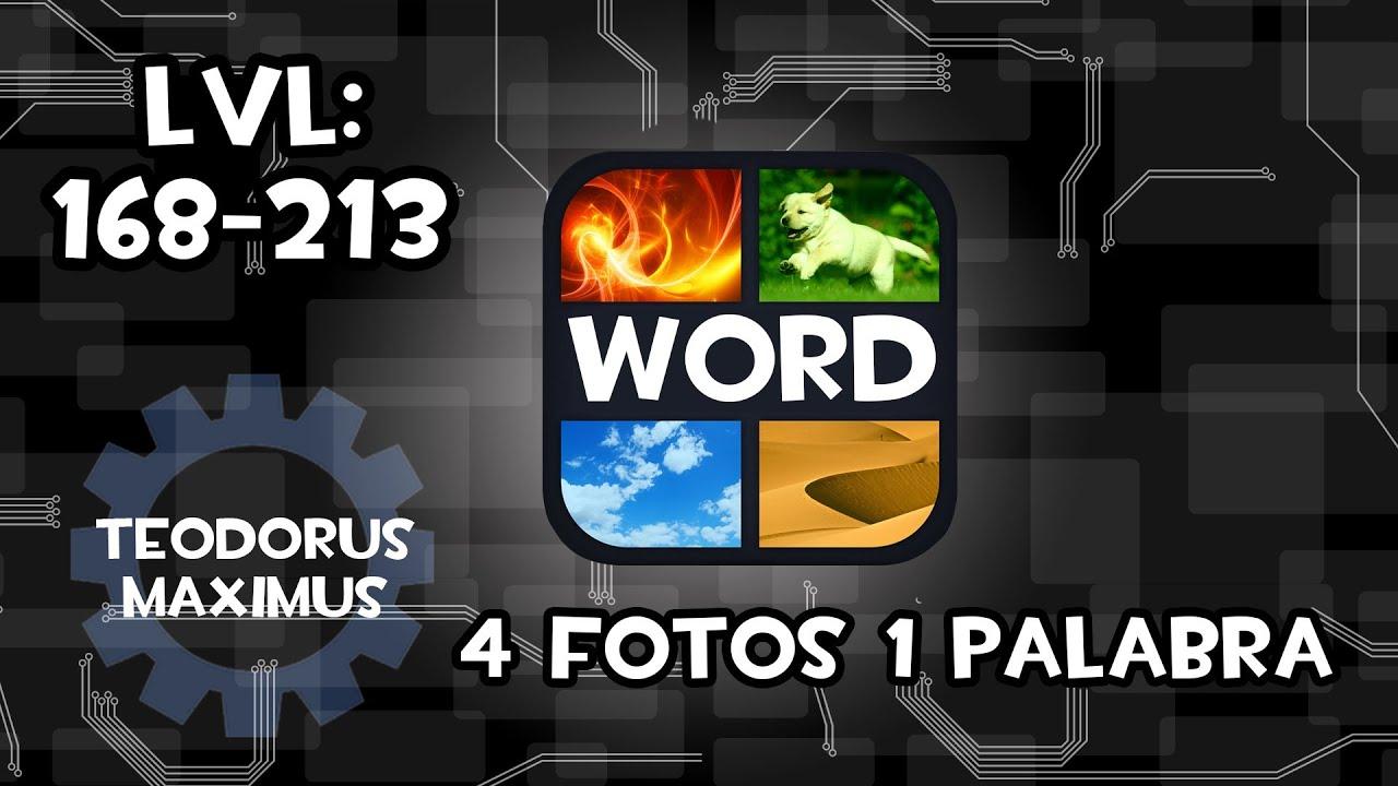 Soluciones 4 fotos y 1 palabra respuestas 168 - 213 rapido 2013