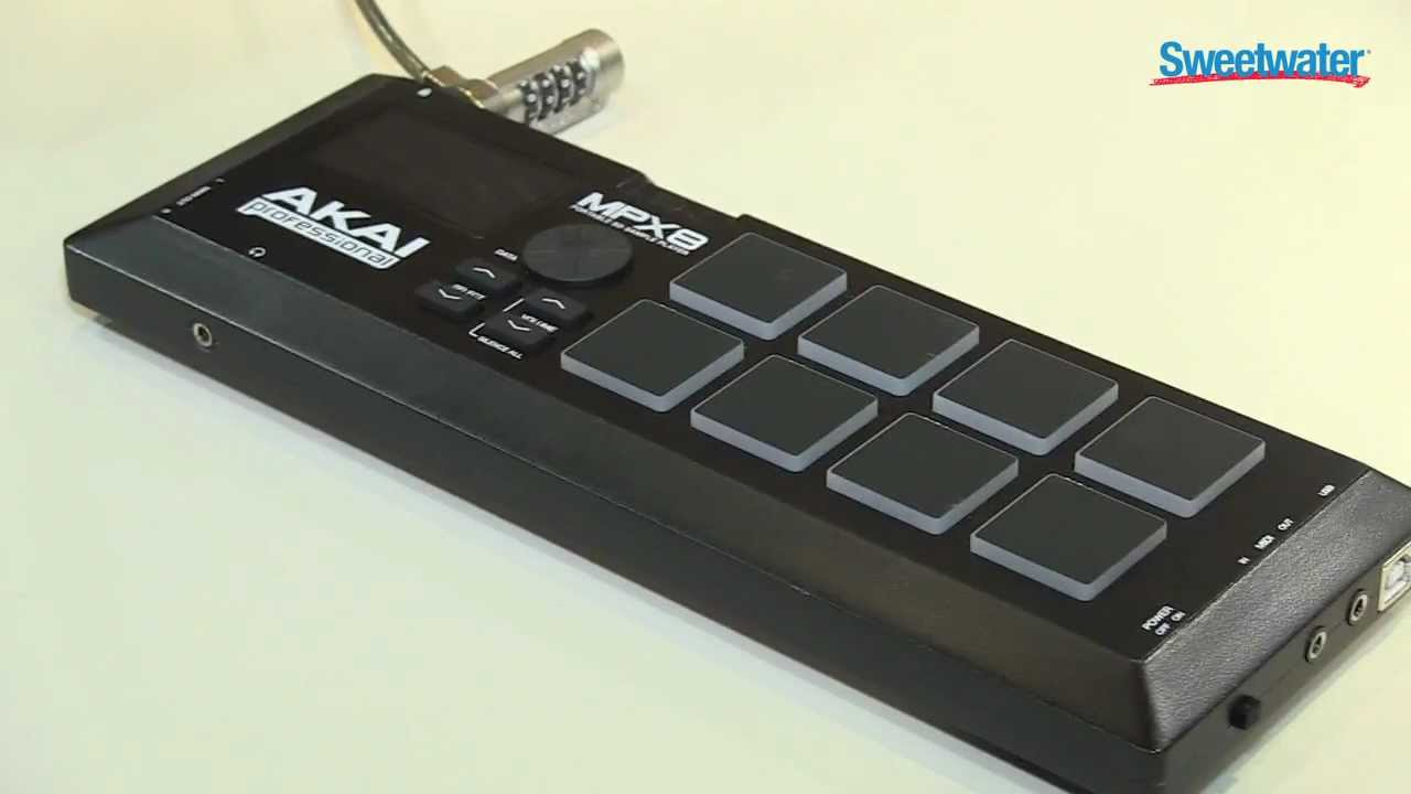 Akai MPX8 Sample Pad Controller Overview - Sweetwater at Winter ...