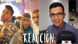 (REACCIÓN) Prince Royce, Manuel Turizo - Cúrame (Official Video)