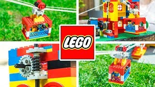 How to build a Lego Cable Car - ULTIMATE Lego builds for kids by Warren Nash
