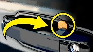 If You Ever Spot A Coin Wedged Between Your Car Door Handle Get Rid of It Immediately!
