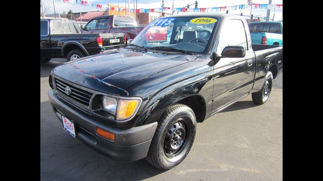 medium resolution of 1996 toyota tacoma pickup 2wd sold