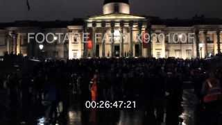 Trafalgar Square Demo -1st Anniversary of Thatcher