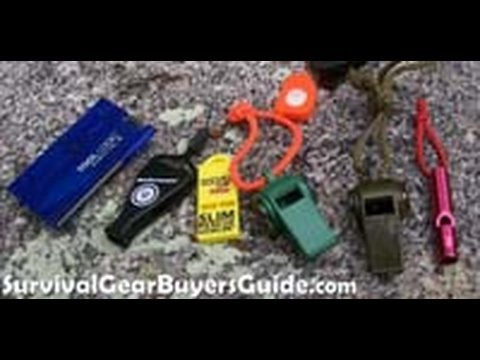 Survival Kit Whistle Review