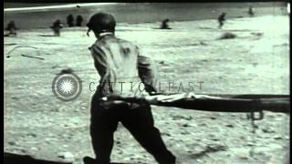 History of 1st Infantry Division, or Big Red One, focusing on deployment and acti...HD Stock Footage