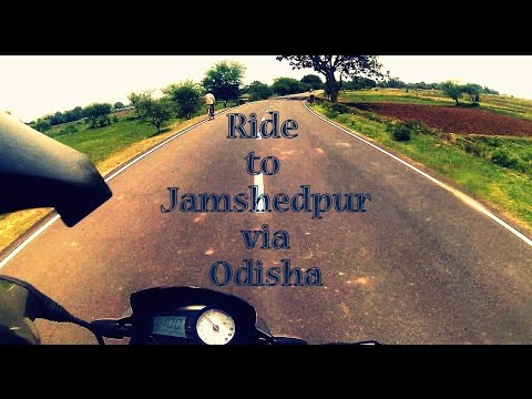 Ride to Jamshedpur! (The Roads Less Travelled..)