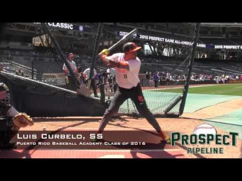 Luis Curbelo Prospect Video, SS, Puerto Rico Baseball Academy Class of 2016