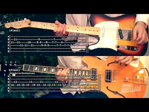 Life Is Simple In The Moonlight  The Strokes  Guitar Tab Tutorial &