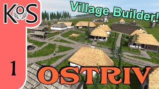 Ostriv LIVESTREAM - City/Village Builder - First Look - Let's Play, Gameplay
