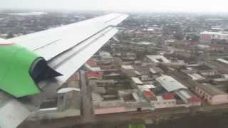 Uzbekistan Airways Il-114-100 - Flight from Termez (TMJ) to Tashkent Yuzhny (TAS), Uzbekistan