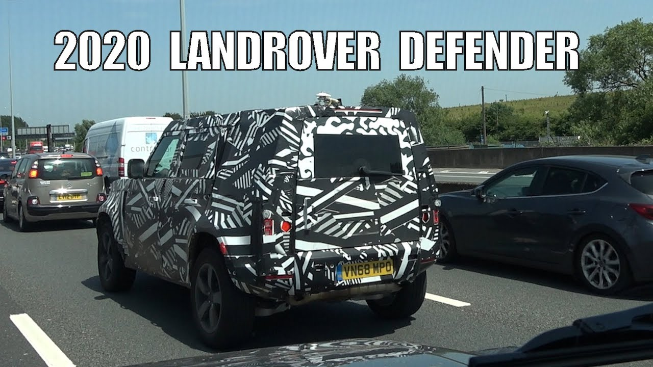 Landrover Defender 2020 on the Road