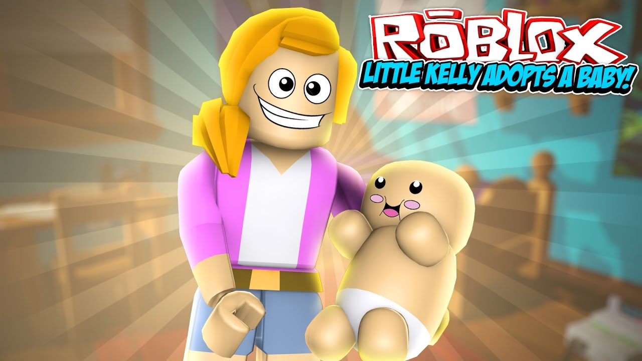 Little Kelly Adopts A Baby Roblox Meepcity Youtube