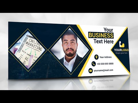 Illustrator Tutorial - Facebook Cover Photo Design