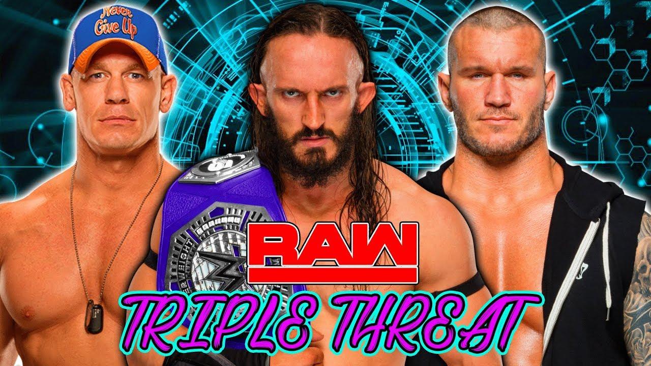 Neville vs. John Cena vs. Randy Orton - Triple Threat Match (WWE 2K17 Simulation)