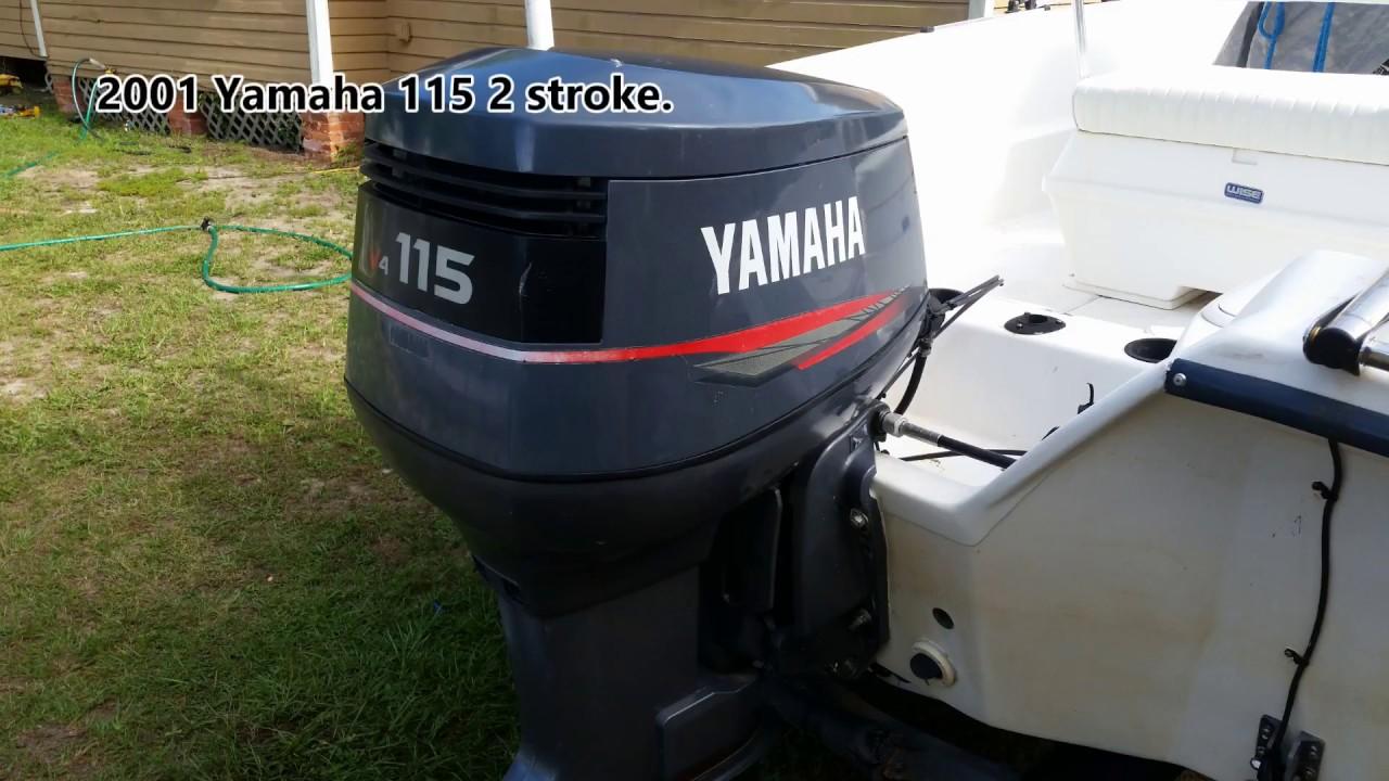 Poppet Valve removal, Yamaha 115 2 stroke overheating, Salt Away motor flush, thermostat  YouTube