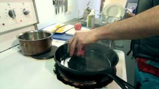 Fed: Corey's Cousin Lou Mintz Makes Cheeseburgers