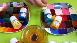Обзор по краскам для стекла и керамики