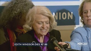 Edith 'Edie' Windsor, Activist Who Helped End Gay Marriage Ban, Dead At 88