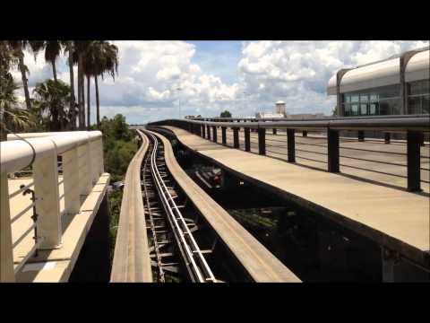 Orlando International Airport Walking Tour