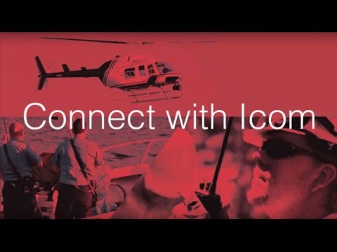 Connect with Icom: Land, Air & Sea Radio Solutions
