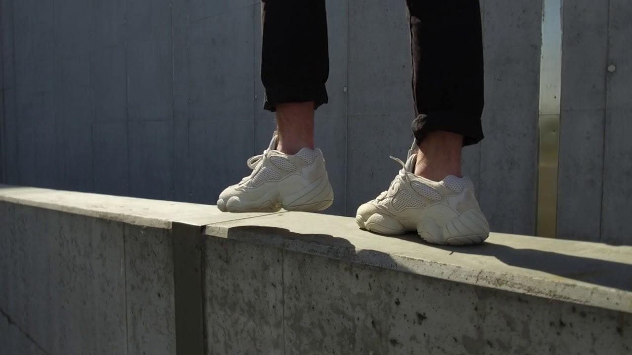 arrives 285ae 6580a TENISUFKI On Feet: adidas YEEZY 500 'Blush'
