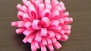 Repeat youtube video How to make a Foam Flower