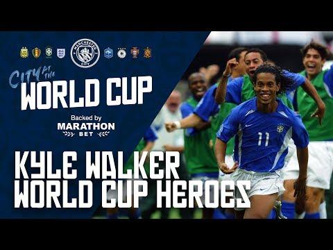 "KYLE WALKER'S WORLD CUP HEROES: ""Ronaldinho"""