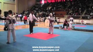 51kg Abdullah Varol - Omer Can Okuzcu (Turkish Junior Taekwondo Championships 2012)
