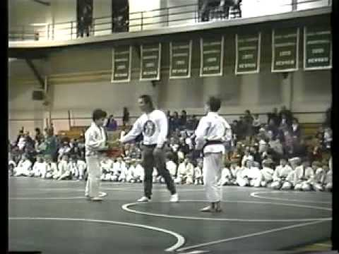 Dimitri Papadopoulos Judo Newman 1992 New Orleans