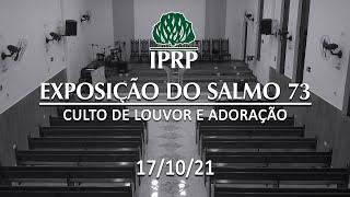 Culto de louvor e adoração às 19:00   AO VIVO