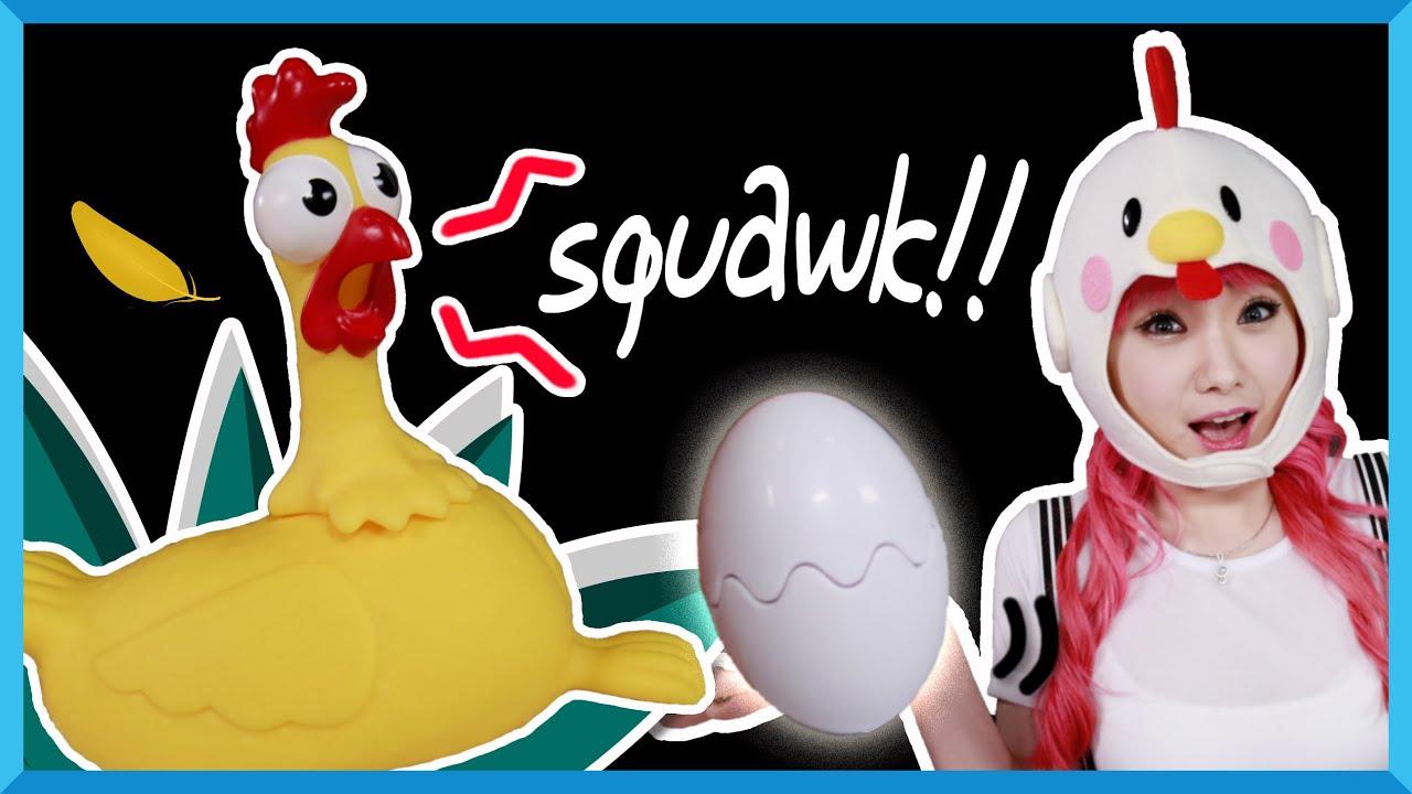 Download Squawk chicken egg   Ayam bertelur   Mainan anak board game   Kids Toys