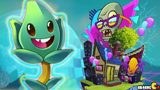 Plants Vs Zombies 2 - New Plant Thyme Warp Neon Mixtape Tour!