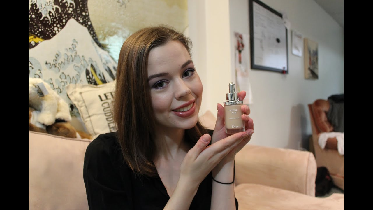 Vivian Wu Nude Top dior nude air foundation review & demo - youtube