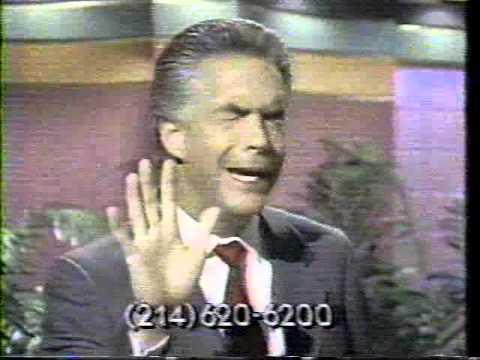 Robert Tilton, Television Evangelist, 1989