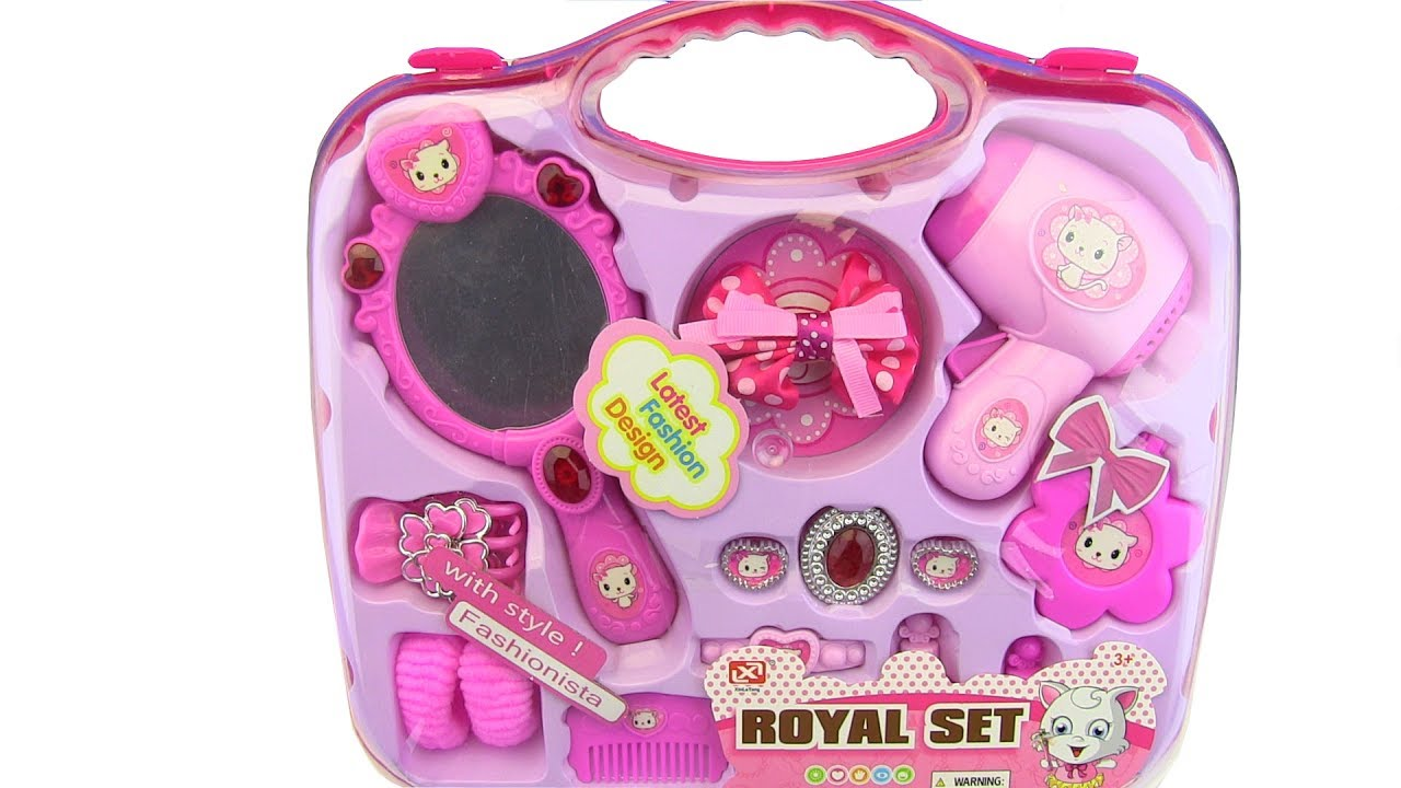 toys for kids makeup set for girls box for kids toys youtube. Black Bedroom Furniture Sets. Home Design Ideas