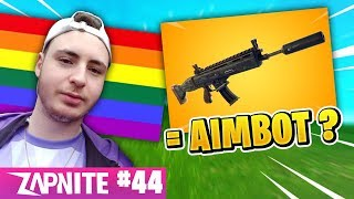 NOKSS AVOUE SON HOMOSEXUALITE 😱 (Irony) NEW ARME - AIMBOT? ZAP FORTNITE #44
