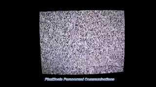 evp session using a tv